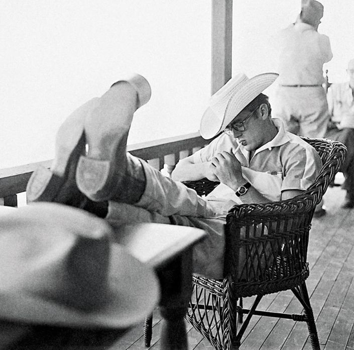 James Dean, Behind the Scenes of Giant
