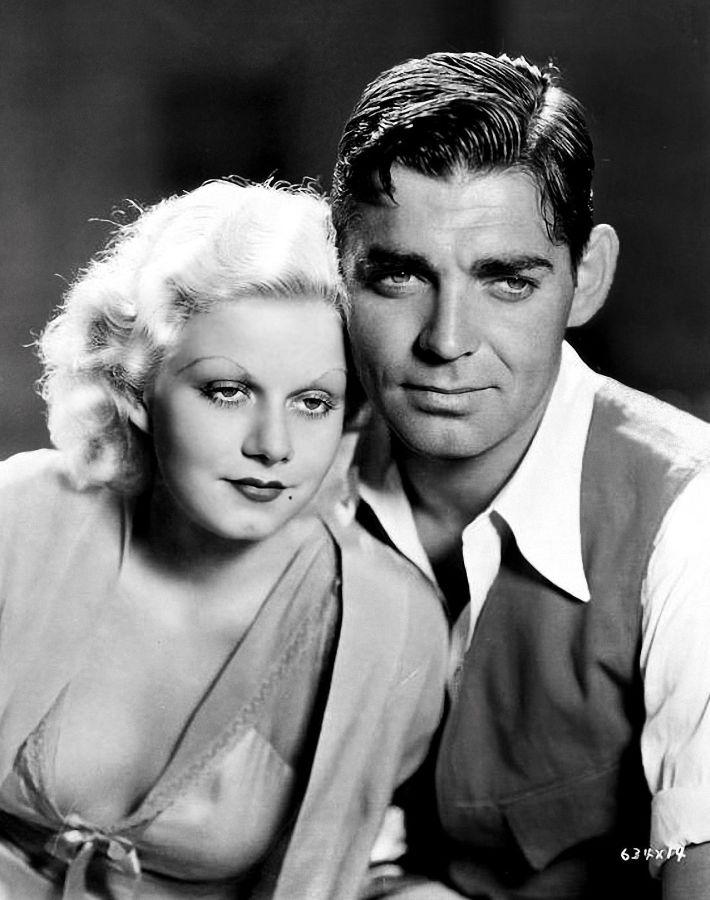 Jean Harlow and Clark Gable, Red Dust