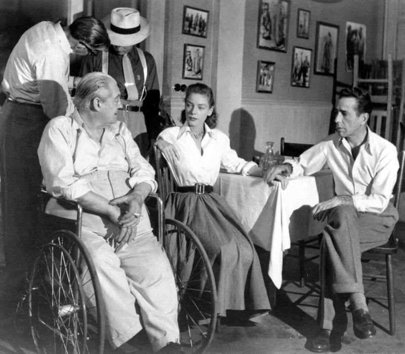 Lionel Barrymore, Lauren Bacall, and Humphrey Bogart: Behind the Scenes of Key Largo