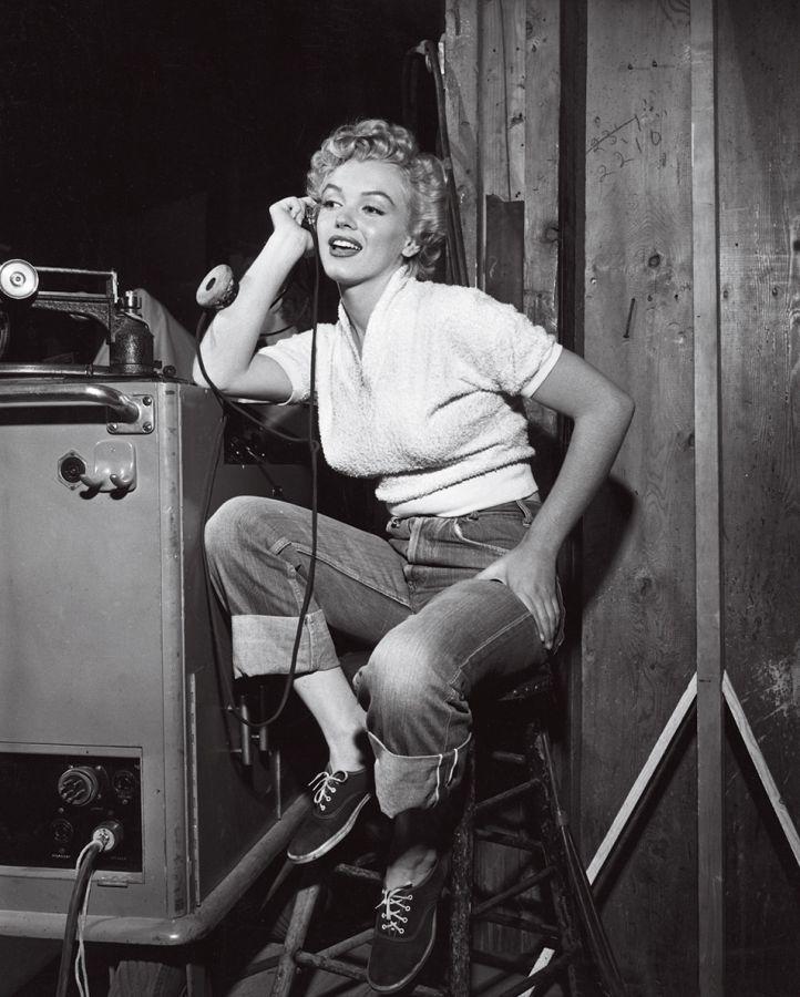 Marilyn Monroe Clash by Night, Behind the Scenes