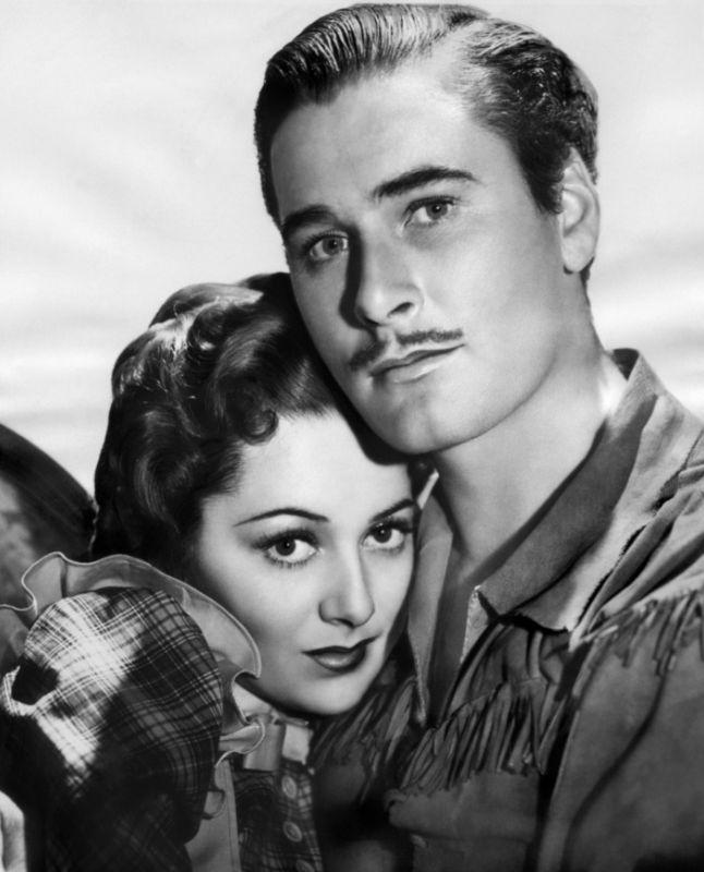 Olivia de Havilland and Errol Flynn, Dodge City