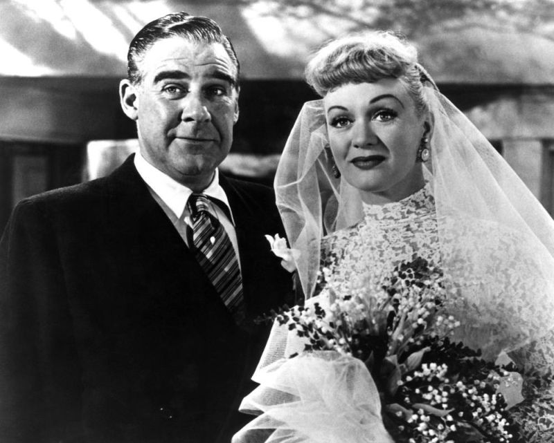 Paul Douglas and Eve Arden in We're Not Married (1952)