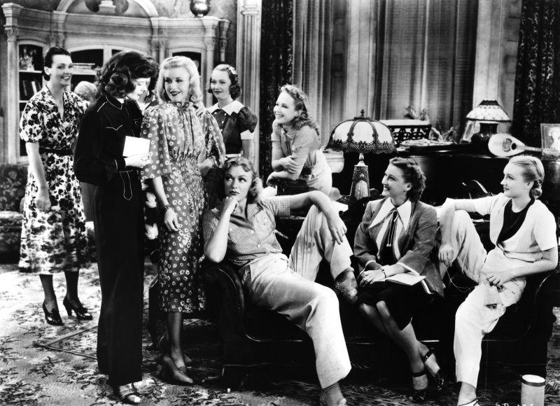 Stage Door: Kathrine Hepburn, Ginger Rogers, Eve Arden, Pamela Blake, and Andrea Leeds