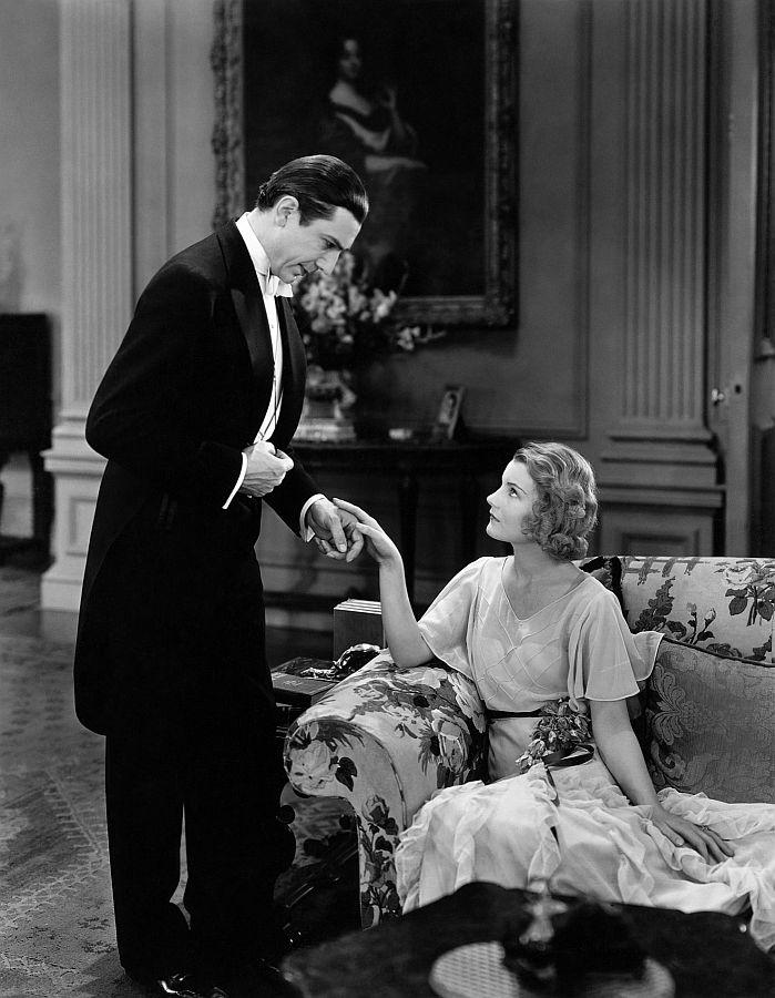 Bela Lugosi and Helen Chandler, Dracula