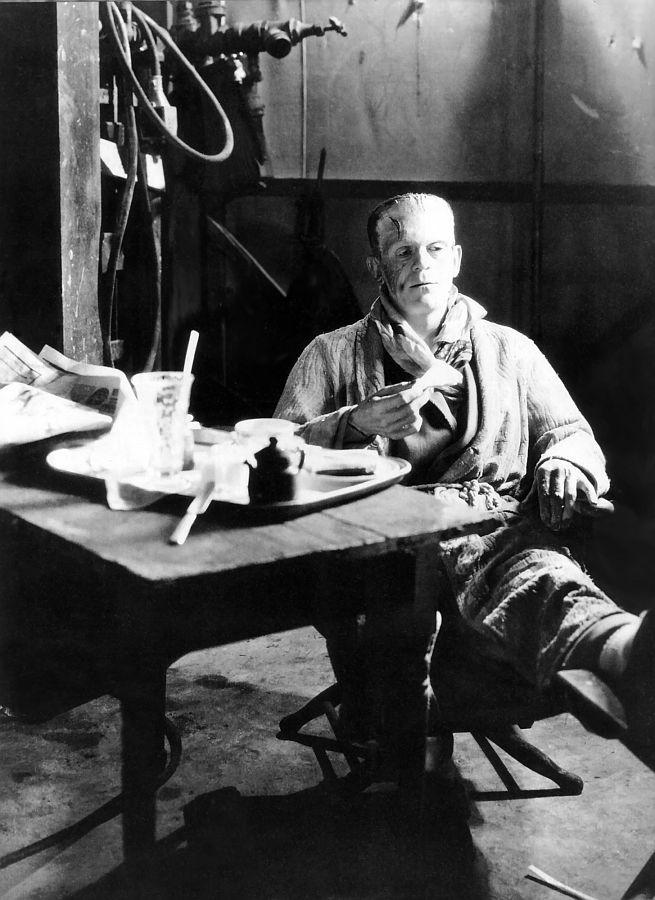 Boris Karloff, Behind the Scenes of The Bride of Frankenstein
