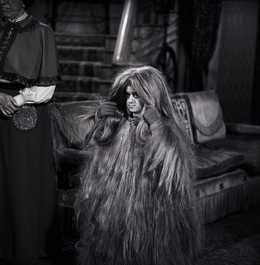 Margaret Hamilton and Felix Silla, Behind the Scenes of The Addams Family